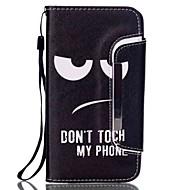 Для Samsung Galaxy Note Бумажник для карт / Кошелек / со стендом / Флип Кейс для Чехол Кейс для Черный и белый Искусственная кожа Samsung