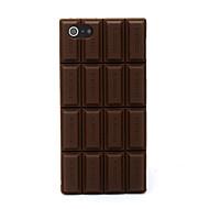 Недорогие Кейсы для iPhone-3d случай мягкой крышки шоколада силикона с iphone 5c iphone случаи