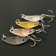 お買い得  釣り用アクセサリー-4 個 ルアー スプーン メタル 海釣り 一般的な釣り