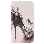 Varten Samsung Galaxy kotelo Korttikotelo / Lomapkko / Tuella / Flip Etui Kokonaan peittävä Etui Seksikäs nainen Tekonahka Samsung J5