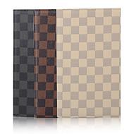 olcso iPad tokok-7.9 hüvelykes rács minta kiváló minőségű PU bőr tok iPad mini 4 (vegyes színek)