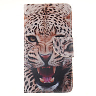 For Samsung Galaxy Note Wallet / Card Holder / with Stand / Flip Case Full Body Case Animal PU Leather Samsung Note 4