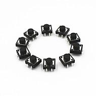 12 x 12 x 7mm tact schakelaars (10 stuks)