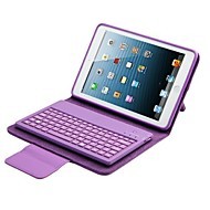 pu lærveske med tastatur for ipad air 2 (assorterte farger)