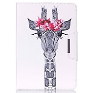 Для Кейс для  Samsung Galaxy Кошелек / Бумажник для карт / со стендом / Флип / С узором Кейс для Чехол Кейс для Животный принт