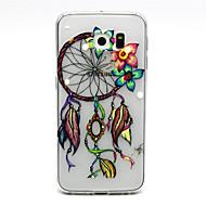 tanie Galaxy S6 Edge Plus Etui / Pokrowce-Na Samsung Galaxy Etui Przezroczyste Kılıf Etui na tył Kılıf Łapacz snów TPU Samsung S6 edge plus / S6 edge / S6 / S5 Mini / S5