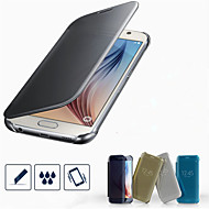 billige Galaxy S6 Edge Plus Etuier-Etui Til Samsung Galaxy Samsung Galaxy etui Belægning Fuldt etui Helfarve PC for S7 edge S7 S6 edge plus S6 edge S6