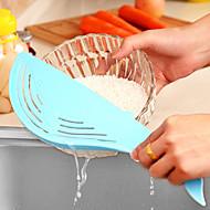 お買い得  キッチン用小物-キッチンツール プラスチック クリエイティブキッチンガジェット スキマー ライスのため
