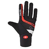 preiswerte -SANTIC Sporthandschuhe Fahrradhandschuhe warm halten Reflektierend Wasserdicht Stoßfest Vollfinger Baumwolle Faser Skifahren Klettern