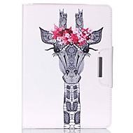 halpa iPad kuoret / kotelot-Etui Käyttötarkoitus iPad Mini 4 iPad Mini 3/2/1 iPad 4/3/2 iPad Air 2 iPad Air Tuella Kuvio Suojakuori Kukka PU-nahka varten iPad Mini 4