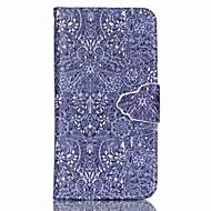 Недорогие Чехлы и кейсы для Galaxy А-Кейс для Назначение SSamsung Galaxy Кейс для  Samsung Galaxy Бумажник для карт со стендом Флип Магнитный С узором Чехол Плитка Кожа PU для