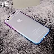 Недорогие Кейсы для iPhone 8 Plus-Кейс для Назначение Apple iPhone 8 iPhone 8 Plus iPhone 6 iPhone 6 Plus iPhone 7 Plus iPhone 7 Покрытие Прозрачный Кейс на заднюю панель