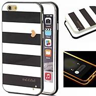 Назначение iPhone 8 iPhone 8 Plus iPhone 6 iPhone 6 Plus Чехлы панели С узором Задняя крышка Кейс для Полосы / волосы Мягкий Термопластик