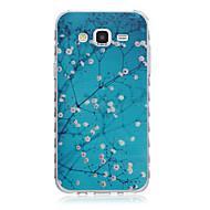 billige Mobilcovers-For Samsung Galaxy etui Mønster Etui Bagcover Etui Blomst TPU for Samsung J7 J5 J3 J2 J1 Ace J1 Grand Prime Core Prime Alpha