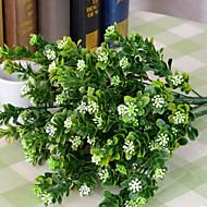 お買い得  -1 ブランチ プラスチック 植物 テーブルトップフラワー 人工花