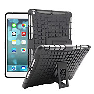cheap Cases/Covers for iPad Air-Case For Apple iPad iPad Mini 4 iPad Mini 3/2/1 iPad Air 2 iPad Air Shockproof with Stand Back Cover Armor Hard PC for Apple iPad iPad
