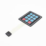 tanie Akcesoria Arduino-Macierz 3x4 12 klucz klawiatura membranowa klawiatura przełącznik