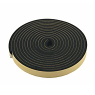 abordables Interruptores-Tira de sellado 2 PC 5 metros de 20 mm de ancho de aire de espuma negro para la puerta del coche