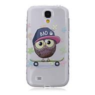 Mert Samsung Galaxy tok Minta Case Hátlap Case Bagoly TPU Samsung S6 edge plus / S6 edge / S6 / S5 Mini / S5 / S4 Mini / S4 / S3 Mini / S3