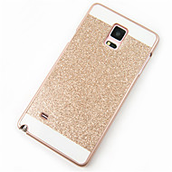 For Samsung Galaxy Note Mønster Etui Bagcover Etui Glitterskin PC for Samsung Note 5 Note 4 Note 3