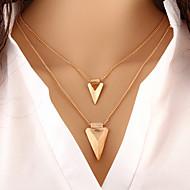 Pentru femei Coliere Layered - femei, Personalizat, De Bază, European Auriu Coliere Bijuterii Pentru Ocazie specială, Zi de Naștere, Cadou, Zilnic, Casual