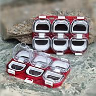 abordables Cajas para Pesca-Caja de pesca Caja de arpones Impermeable 1 Bandeja El plastico 11 1.2*2