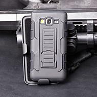 Недорогие Чехлы и кейсы для Galaxy А-Для Кейс для  Samsung Galaxy Защита от удара / со стендом Кейс для Чехол Кейс для Армированный PC Samsung A5 / A3