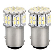 abordables Luces Traseras de Coche-1157 Blanco SMD 3528