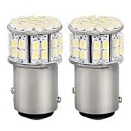 Недорогие Задние фонари-1157 Автомобиль Лампы W SMD 3528 lm Светодиодная лампа Задний свет ForУниверсальный
