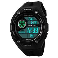 Недорогие Фирменные часы-Муж. Наручные часы Будильник / Календарь / Секундомер PU Группа Черный