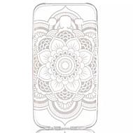 Para Funda Samsung Galaxy Transparente / Diseños Funda Cubierta Trasera Funda Mandala TPU Samsung J5
