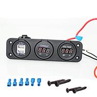 Недорогие Автомобильные зарядные устройства-iztoss 12v морской USB порт и сигареты напряжение тока разъем для автомобиль внедорожник, RV, караван