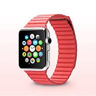 abordables Accesorios para Apple-Ver Banda para Apple Watch Series 4/3/2/1 Apple Correa de Cuero Cuero Auténtico Correa de Muñeca