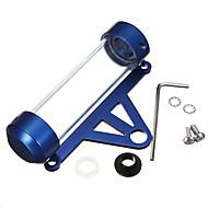 방수 오토바이 오토바이 스쿠터 튜브 세금 디스크 원통형 홀더 프레임을 iztoss