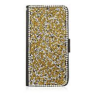Для Кейс для  Samsung Galaxy Бумажник для карт / со стендом / Флип Кейс для Чехол Кейс для Сияние и блеск Искусственная кожа SamsungS7