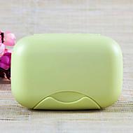 preiswerte Alles fürs Reisen-Seifenschale für Kulturtasche Hygieneartikel Plastik-Rose Grün Blau