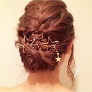 Dame Mode Star Style Stjerne Hårpind-Legering