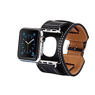 baratos -Pulseiras de Relógio para Apple Watch Series 4/3/2/1 Apple Fecho Clássico Couro Legitimo Tira de Pulso