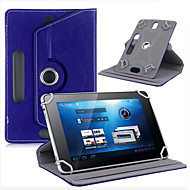 "Leather Case For Tablet 360 Degree Rotate Leather Case Cover Stand for Universal Android Tablet 7"" inch 3-berna"