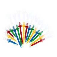저렴한 -16pcs / 상자 프로 골프 티 4야드 여러 가지 빛깔의 내구성 골프 티 골프 액세서리