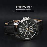 CHENXI® Muškarci Ručni satovi s mehanizmom za navijanje Kvarc Japanski kvarc Koža Grupa Crna Obala Crn