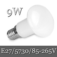 halpa LED-pallolamput-900 lm E26/E27 LED-pallolamput R63 30LED ledit SMD 5730 Himmennettävissä Koristeltu Lämmin valkoinen Kylmä valkoinen AC 85-265V