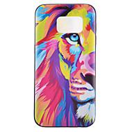Mert Samsung Galaxy S7 Edge Minta Case Hátlap Case Állat TPU Samsung S7 Active / S7 plus / S7 edge / S7 / S6 edge / S6