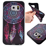 For Samsung Galaxy S7 Edge Pattern Case Back Cover Case Dream Catcher TPU Samsung S7 Active / S7 plus / S7 edge / S7 / S6 edge / S6