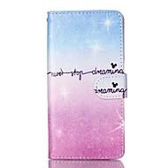 tok Για Samsung Galaxy S7 edge S7 Πορτοφόλι Θήκη καρτών με βάση στήριξης Ανοιγόμενη Με σχέδια Πλήρης κάλυψη Διαβάθμιση χρώματος Μαλακή PU