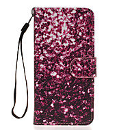 Для Samsung Galaxy S7 Edge Кошелек / Бумажник для карт / со стендом / Флип Кейс для Чехол Кейс для Плитка Искусственная кожа SamsungS7