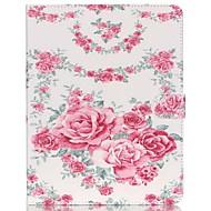 olcso iPad tokok-Case Kompatibilitás Apple iPad Air 2 iPad mini 4 Pénztárca Kártyatartó Állvánnyal Teljes védelem Pillangó Szexi lány Kemény Műbőr Bőr mert