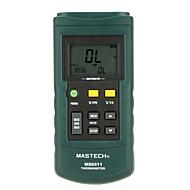 お買い得  -MASTECH ms6511-シングルパスK / J / T / Eタイプの熱電対の温度検出器 - シングルパス温度gaug