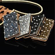 voordelige Hoesjes/covers voor Samsung-luxe bling kristal diamant portemonnee flip-kaart bij dekking voor Samsung S7 / S7 rand