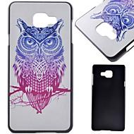 Для Кейс для  Samsung Galaxy Бумажник для карт / со стендом / Флип / С узором / Магнитный Кейс для Задняя крышка Кейс для Сова PC Samsung